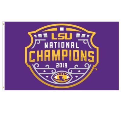 LSU 2019 National Champions House Flag (3' x 5')