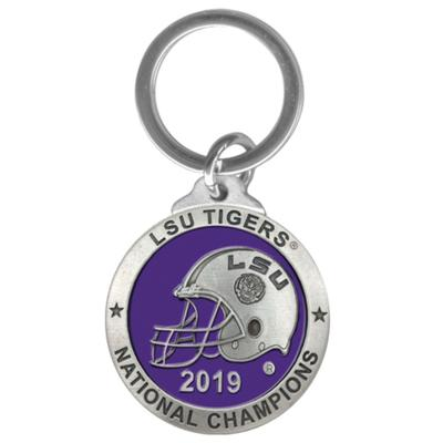 LSU 2019 National Champions Heritage Pewter Key Chain
