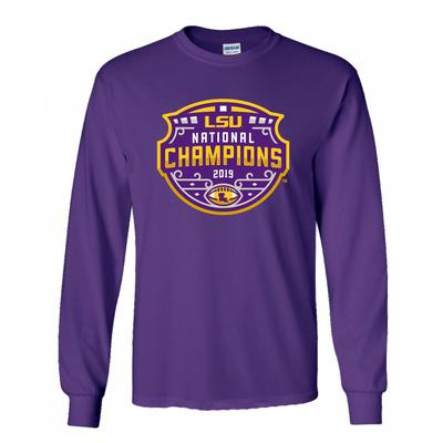 LSU National Champions Long Sleeve Tee