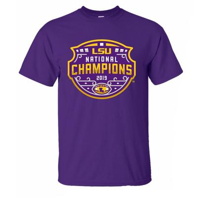 LSU National Champions YOUTH Short Sleeve Tee