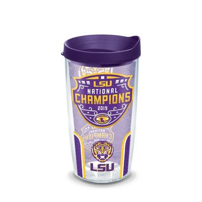 LSU 2019 National Champions 16oz Wrap Tumbler