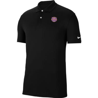 LSU 2019 National Champions Nike Golf Victory Solid Polo