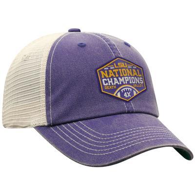 LSU National Championship Logo Adjustable Hat