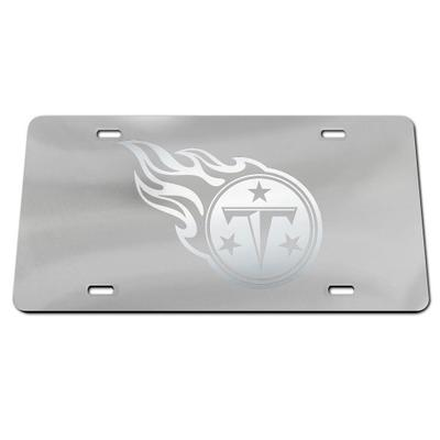 Tennessee Titans Frosted License Plate