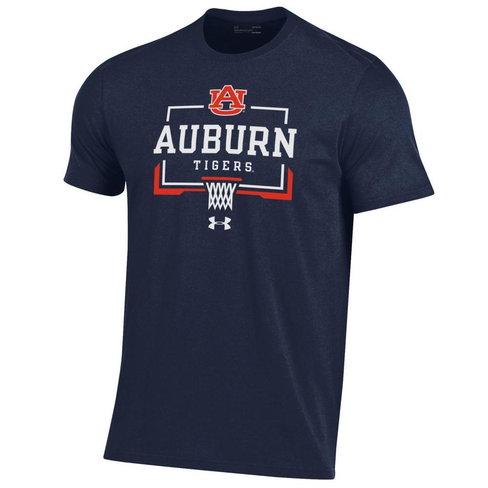 Auburn Under Armour Nothing But Net Basketball Short Sleeve Tee
