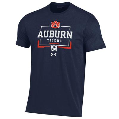 Auburn Under Armour Nothing but Net Basketball Short Sleeve Tee