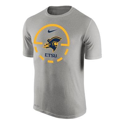 ETSU Nike Court Logo Dri-Fit Legend Tee