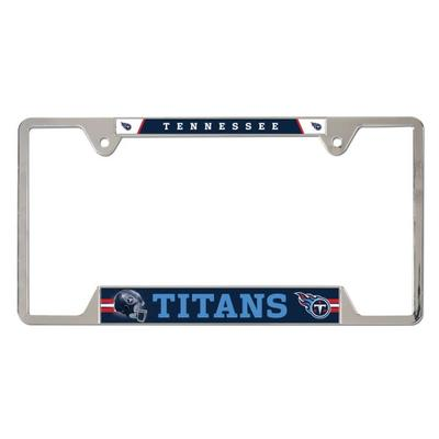 Tennessee Titans Metal License Plate Frame