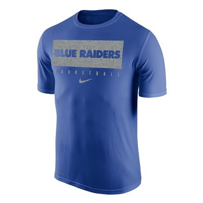 MTSU Nike Practice Legend Basketball Short Sleeve Tee