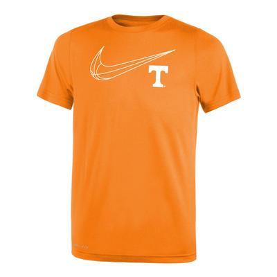 Tennessee Nike Youth Basketball Legend Short Sleeve Tee