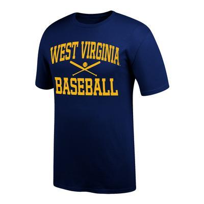 West Virginia Arch Baseball Tee Shirt