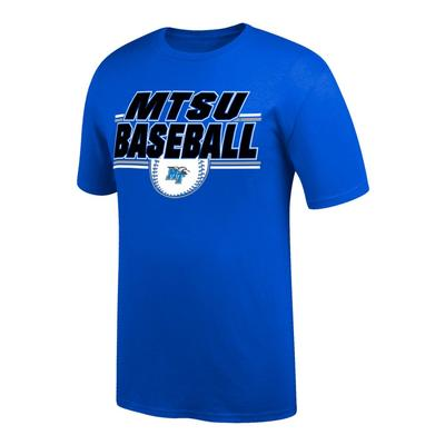 MTSU Baseball Double Bar Tee