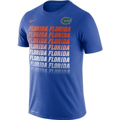 Florida Nike Dri-Fit Cotton Fading Tee