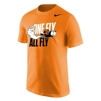 Tennessee One Fly All Fly Airplane Smokey Tee