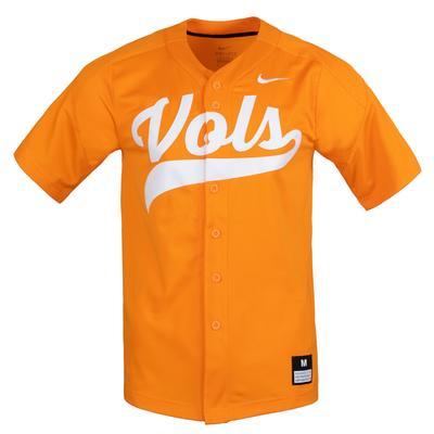 Tennessee Nike Vol Script Baseball Jersey