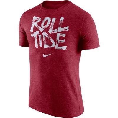 Alabama Roll Tide Nike Tri Blend Tee