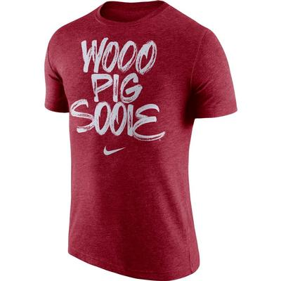 Arkansas Woo Pig Sooie Nike Tri Blend Tee