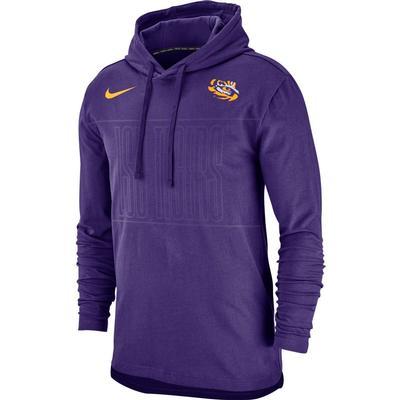 LSU Nike Jersey Club Pullover Hoody