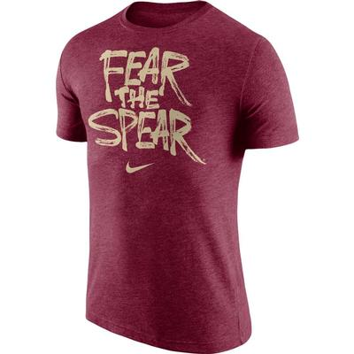 Florida State Fear the Spear Nike Tri Blend Tee