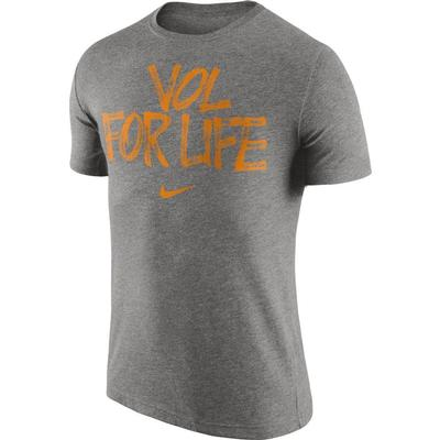 Tennessee Vol for Life Nike Tri Blend Tee