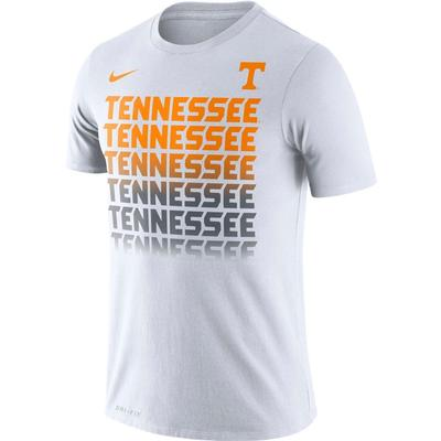 Tennessee Nike Dri-Fit Cotton Fading Tee