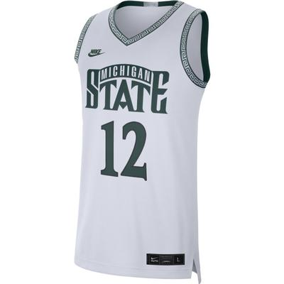 Michigan State Nike Commemorative Replica Basketball Jersey