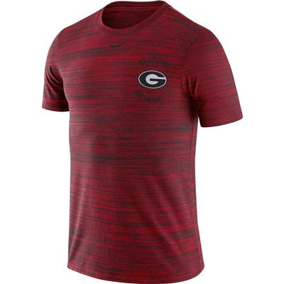 Georgia Nike Velocity Legend Dri-Fit Baseball Tee