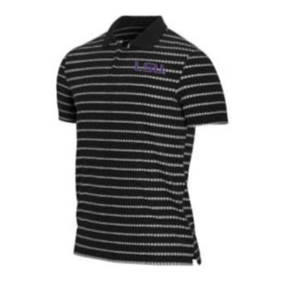 LSU Tiger Woods Dry Novelty Golf Polo