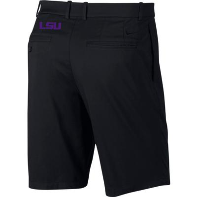 LSU Nike Golf Flex Core Shorts BLACK