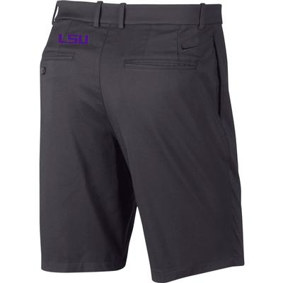 LSU Nike Golf Flex Core Shorts DARK_GREY