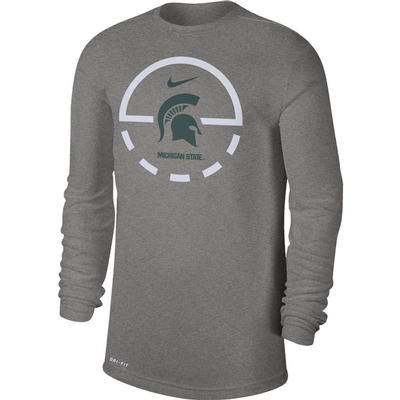 Michigan State Nike Men's Dry Legend Key 2.0