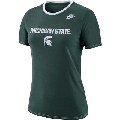 Michigan State Nike Women's Dry Crew Tee