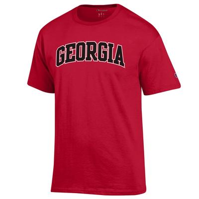 Georgia Champion Arch Short Sleeve Tee