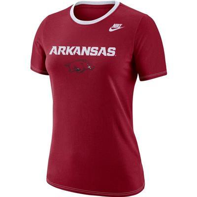 Arkansas Nike Women's Dry Crew Tee