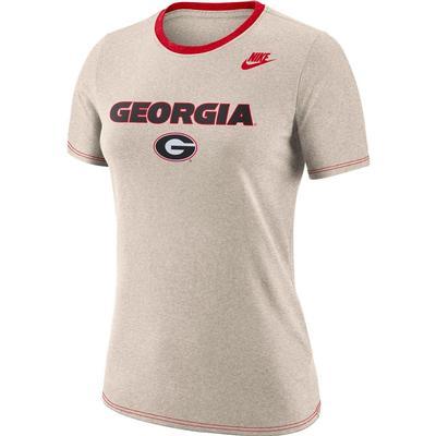 Georgia Nike Women's Dry Crew Tee