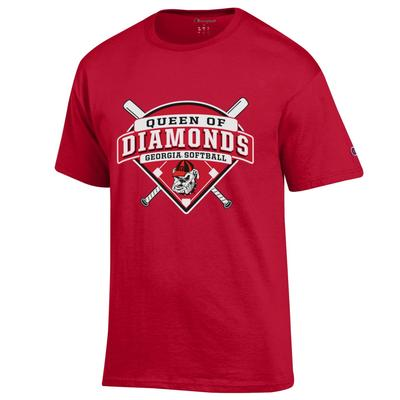 Georgia Champion Queen of Diamonds Tee