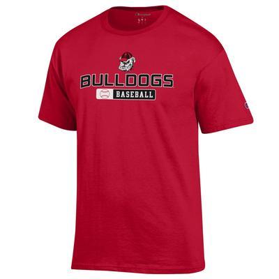 Georgia Champion Bulldogs Baseball Tee