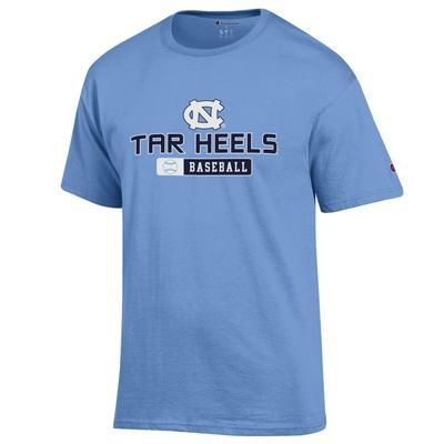 UNC Champion Tar Heels Baseball Tee