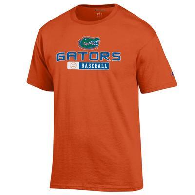 Florida Champion Gators Baseball Tee