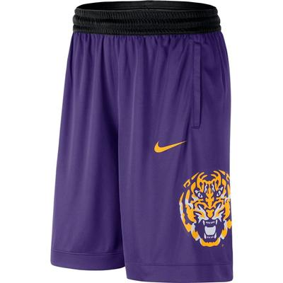 LSU Nike Men's Dri-fit Basketball Shorts