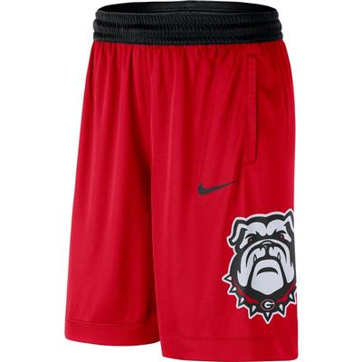 Georgia Nike Men's Dri-fit Basketball Shorts