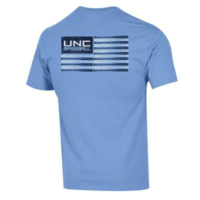 UNC Champion Baseball Bat Flag Tee