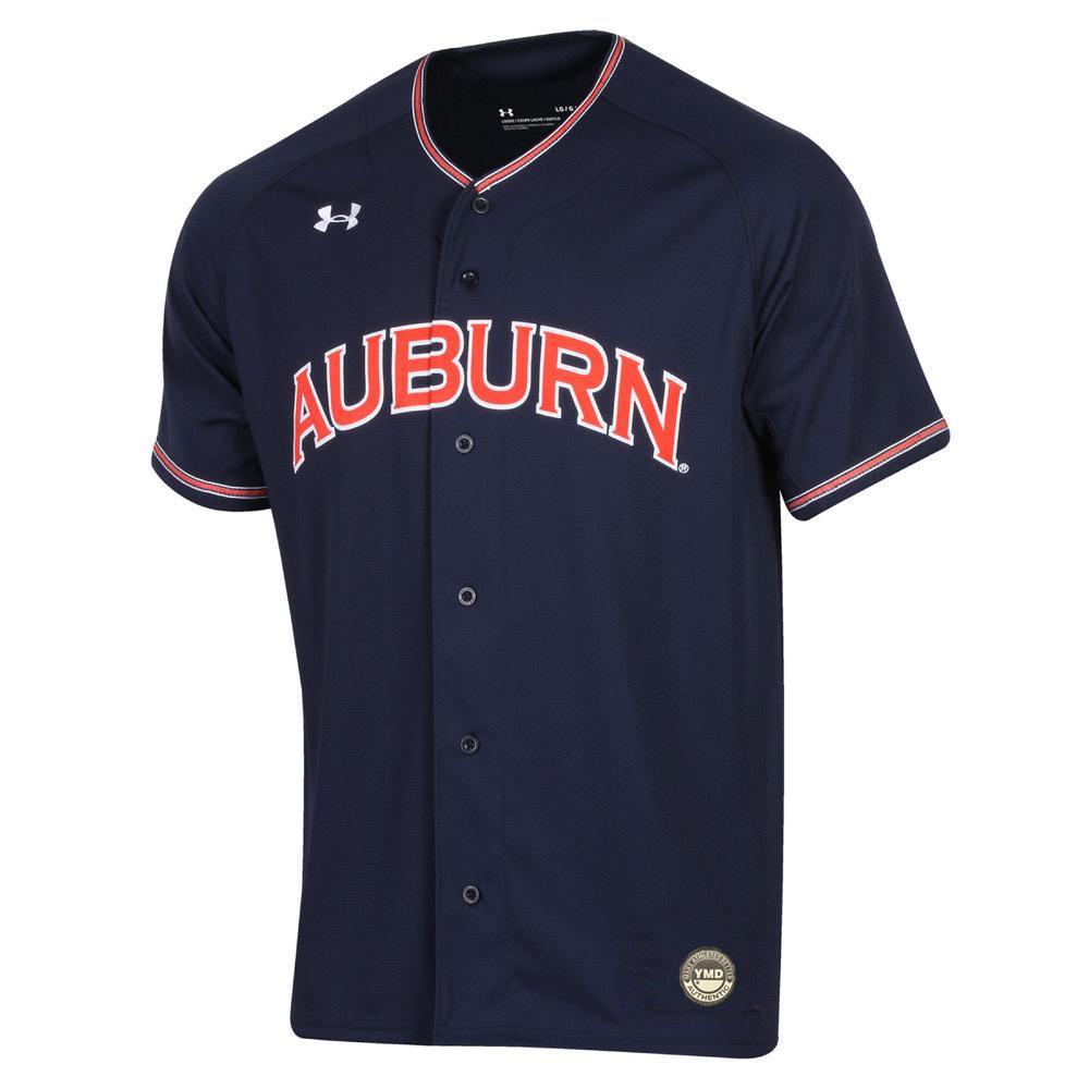Auburn Under Armour Youth Baseball Jersey