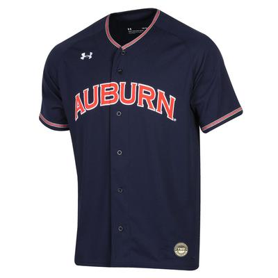 Auburn Under Armour Youth Baseball Jersey