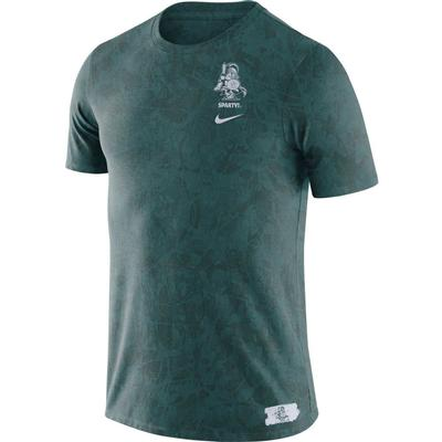 Michigan State Nike Sparty Statement Short Sleeve Tee