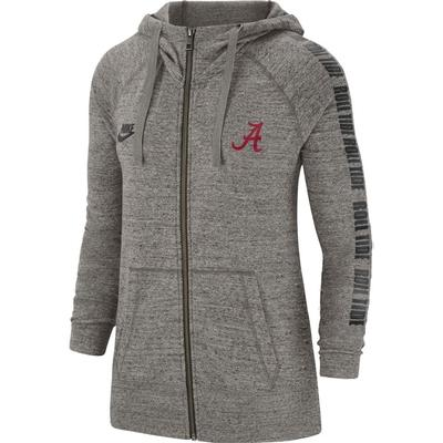 Alabama Nike Women's Vintage Full Zip Gym Hoodie