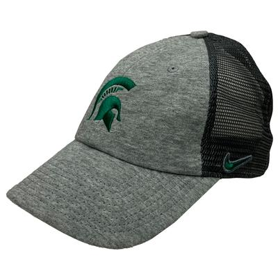 Michigan State Terry Heathered Heritage 86 Adjustable Meshback Hat
