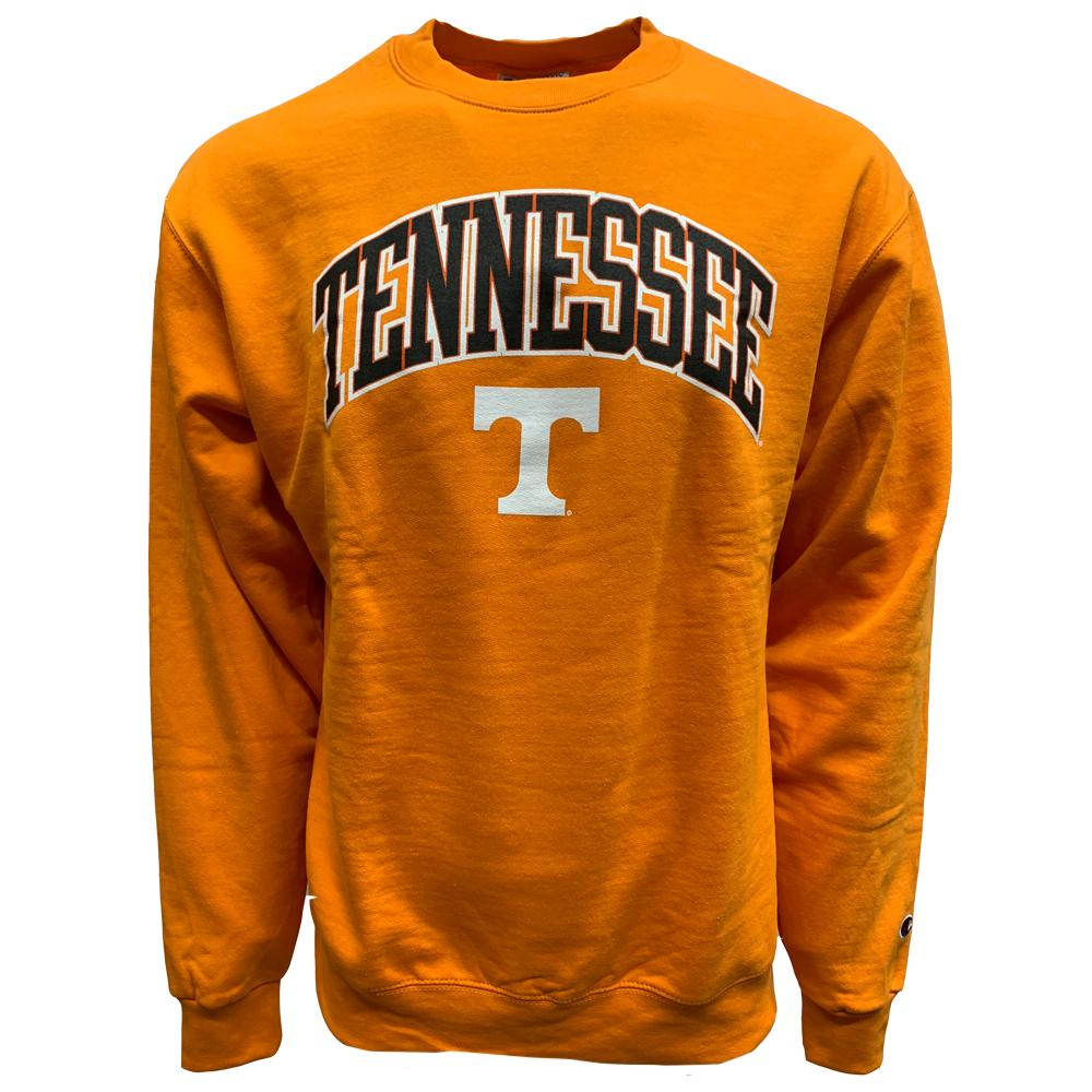 Tennessee Champion Arch Crew Sweatshirt - Orange