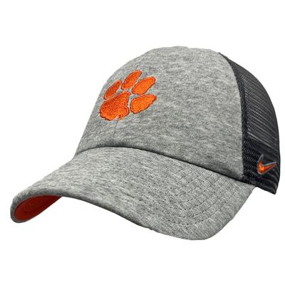 Clemson Terry Heathered Heritage 86 Adjustable Meshback Hat