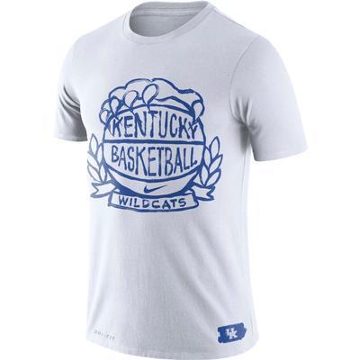 Kentucky Basketball Nike Crest Tee